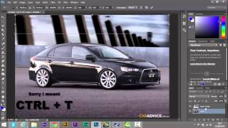 Photoshop CC Tutorial Photo Editing Car Modifications