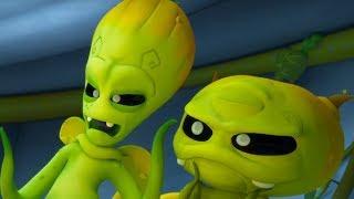 Макс Грин и инопланетяне -Тайна Виктора - мультфильм про инопланетян