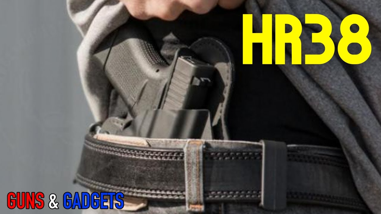HR38: Concealed Carry Reciprocity Act of 2021 Submitted