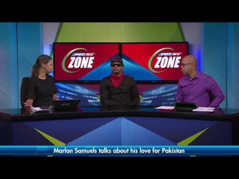 Marlon Samuels talks about his love for Pakistan | SportsMax Zone | April 10, 2017