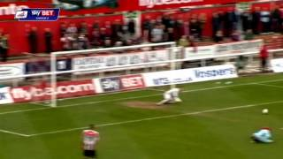 Exeter City vs Cheltenham Town - League Two 2013/14