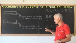OSSIDANTE e RIDUCENTE nelle Reazioni Redox.mp4