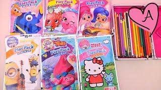 Dibujos para colorear de Trolls Hello Kitty y más | Muñecas y juguetes con Andre para niñas y niños