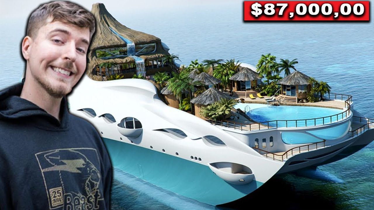 10 Crazy Things That MrBeast Spends His Millions On