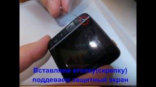 разборка видеорегистратора Mio Mivue 338 и замена аккумулятора