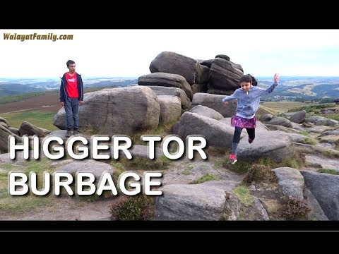 Burbage Trek From Fox House To Higger Tor - Sheffield Things To Do