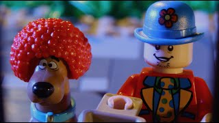 trick and treat lego scooby doo stop motion