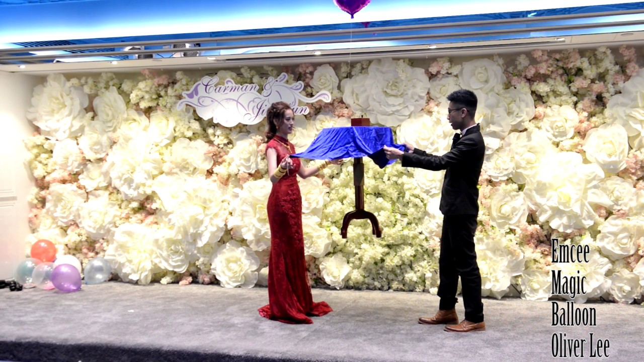 婚禮司儀 X 魔術 X 氣球 X 韓國新郎