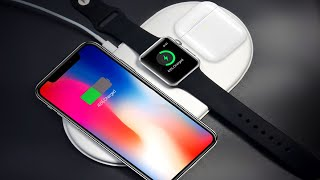 Беспроводные зарядки для iphone 10 и Samsung S9 | алиэкспресс обзор