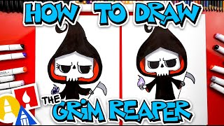 How To Draw Tнe Grim Reaper Cute Cartoon