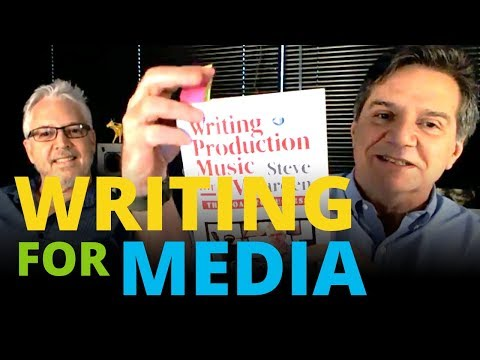 Creating Music for Media with Steve Barden on TAXI TV @ 4PM Pacific!
