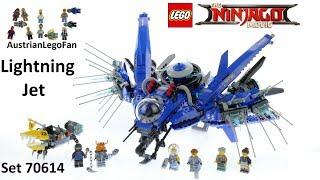 Lego Ninjago Movie 70614 Lightning Jet - Lego Speed Build Review