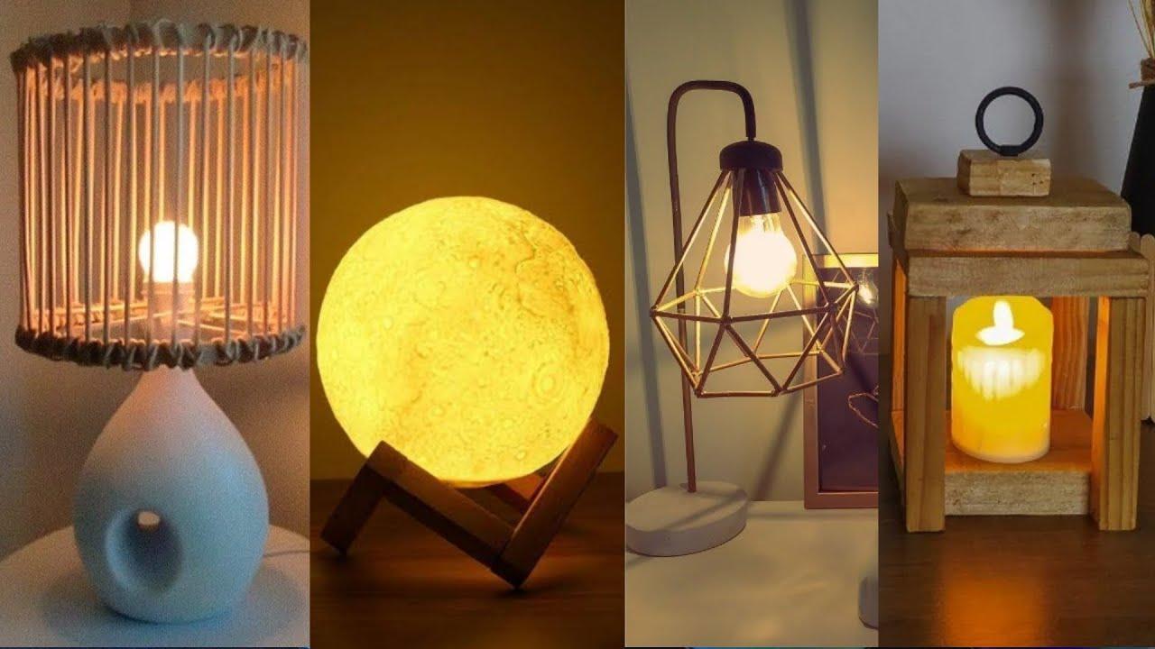 Transforme o seu lixo em abajur, luminárias decorações incríveis Artesanato Decoração
