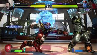MvC Infinite: Week 2 Online Play pt6 - vs. Ultron/Thanos