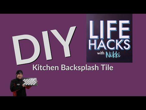 LIFE-HACKS-with-Nikki-DIY-kitchen-backsplash