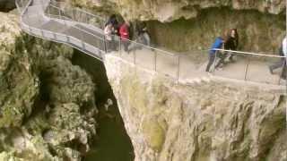 Die Höhlen von Škocjan, Slowenien