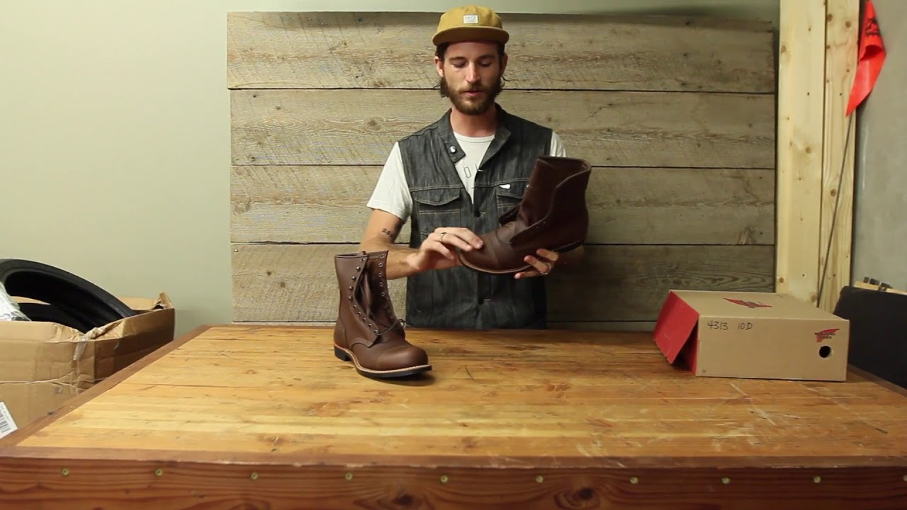 1f31a0f2df8 Indian Motorcycle Red Wing Boots