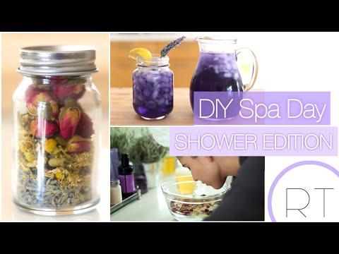 DIY Spa Day (Shower Edition)