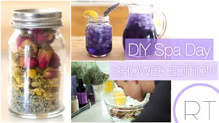 DIY Spa Day (Shower Edition)