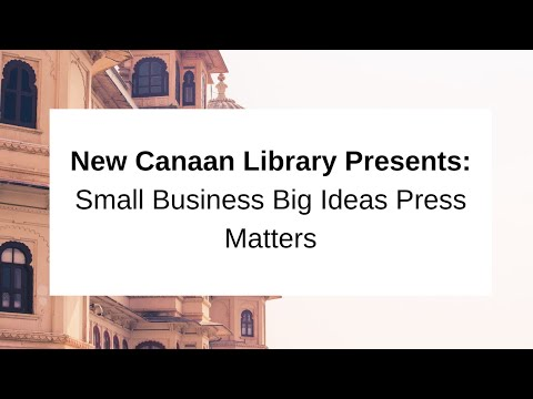 Small Business Big Ideas Press Matters May 9 2017