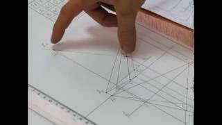 Как начертить Эпюр 1 КНИТУ(КХТИ) 1 курс.Найти расстояние от точки D до плоскости треугольника ABC