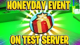 Honeyday Event On Test Server UPDATE COMING SOON In Roblox Bee Swarm Simulator