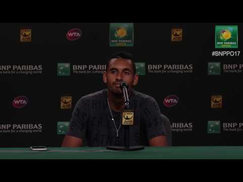 BNP Paribas Open 2017: Nick Kyrgios 3R Press Conference