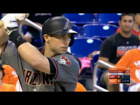 2016/5/5 MLB.TV Game of the Day Arizona Diamondbacks VS Miami Marlins (響尾蛇 VS 馬林魚)