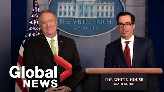 U.S. government details new sanctions against Iran