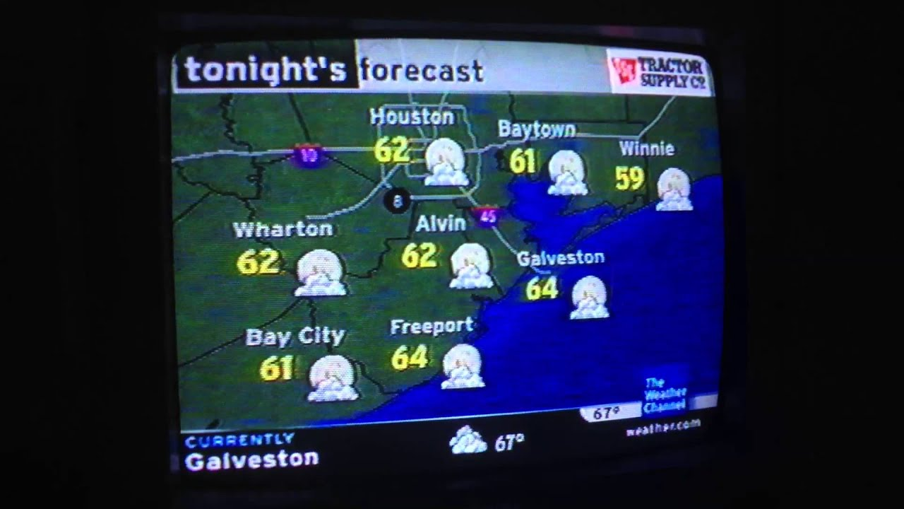the weather channel local on the 8s from 2005  houston