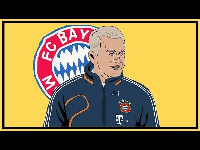 Bayern Munich & Jupp Heynckes' Treble Tactics Explained