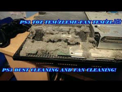 PS3 TOZ TEMİZLEME-FAN TEMİZLİĞİ_PS3 DUST CLEANING-FAN CLEANING