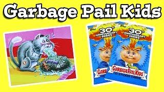 Garbage Pail Kids 30th Anniversary Sticker Card Packs Ep 2