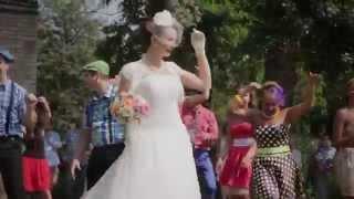 """Выкуп невесты """"Стиляги навсегда"""". Ведущий - дуэт """"Вуаля"""""""