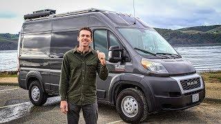 The van is ROAD TRIP READY | 2019 Promaster camper van tour