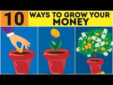 10 Proven Ways To Grow Money - How To Grow Money