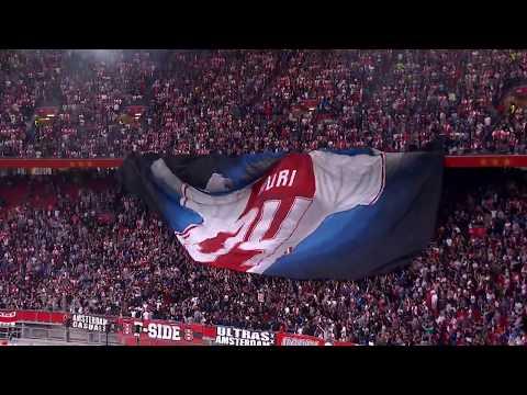Ajax F-Side tribute to Abdelhak Nouri