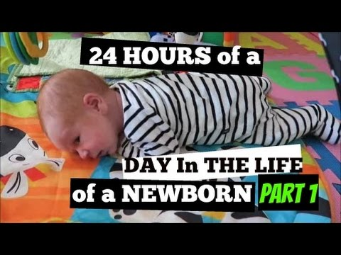DAY IN THE LIFE of a NEWBORN || Mum of 3...