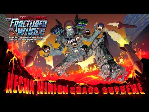 South Park: The Fractured But Whole  Mecha Minion Chaos Supreme Boss BattleFight Music Theme