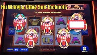 ★WOW ! Super Big Win☆Hu Wang & Choy Sun Jackpots Slot machine☆$160 Free Play Live at San Manuel 栗
