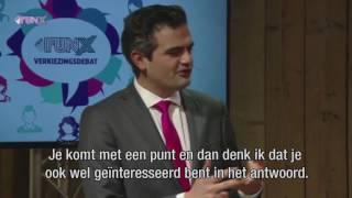Confrontatie tussen Jesse Klaver (GL) en Tunahan Kuzu (Denk)