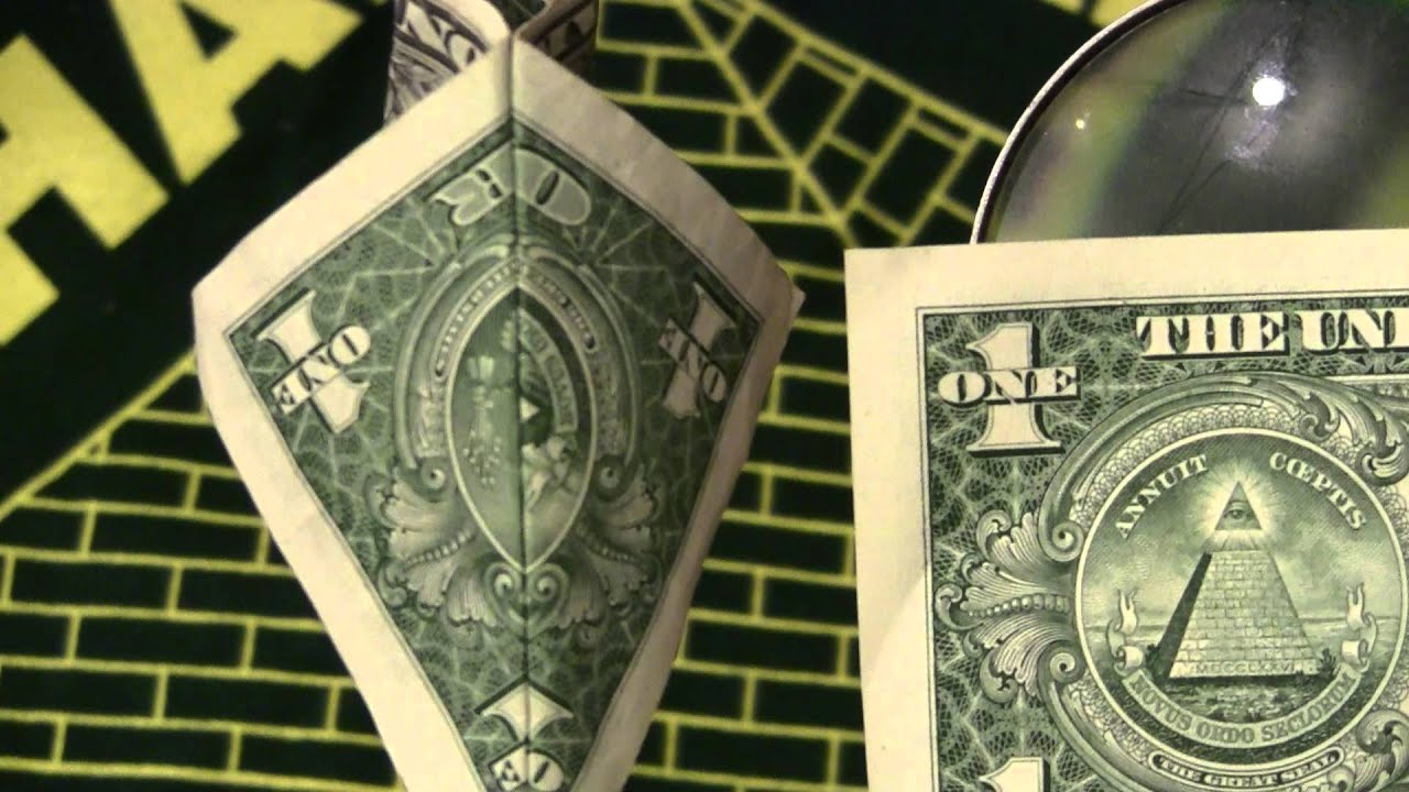 Gravity Falls Trust No One Wallpaper 33 Masonic Symbols Amp Ark Of Covenant On Dollar Bill
