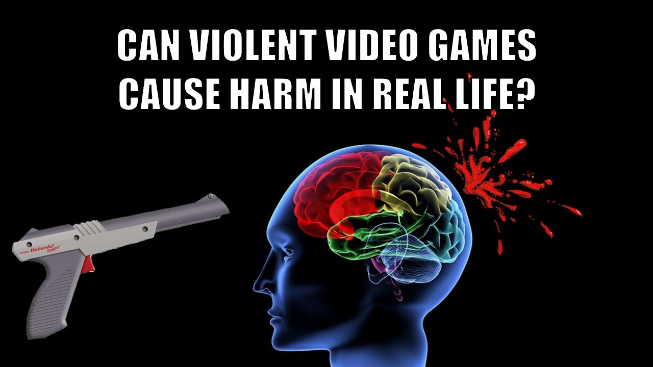 For the people in the back: Video games don't cause violence