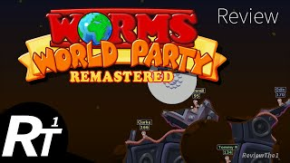 Worms World Party Remastered - Review and Gameplay