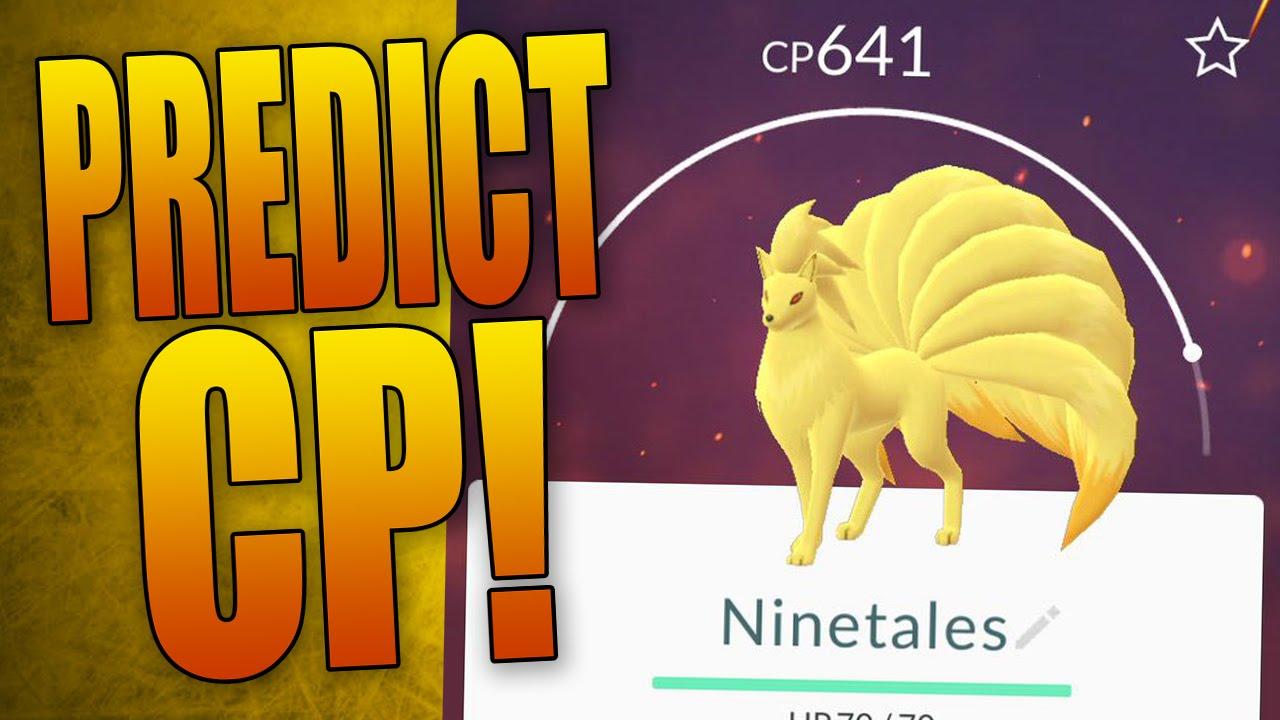 how to predict pokemon cp after evolution pokemon go tip youtube