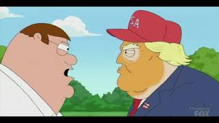Family Guy Roasted Donald Trump
