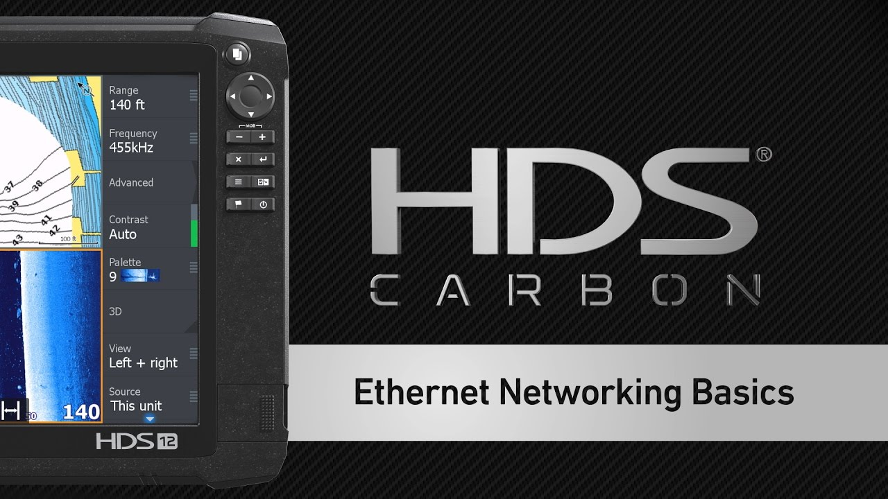 how to network lowrance hds units via ethernet [ 1280 x 720 Pixel ]