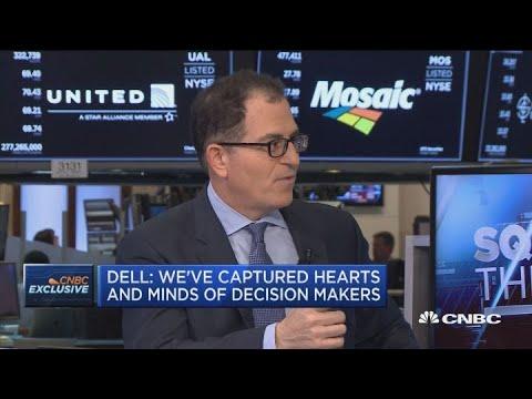 Dell CEO Michael Dell on going public and VMware