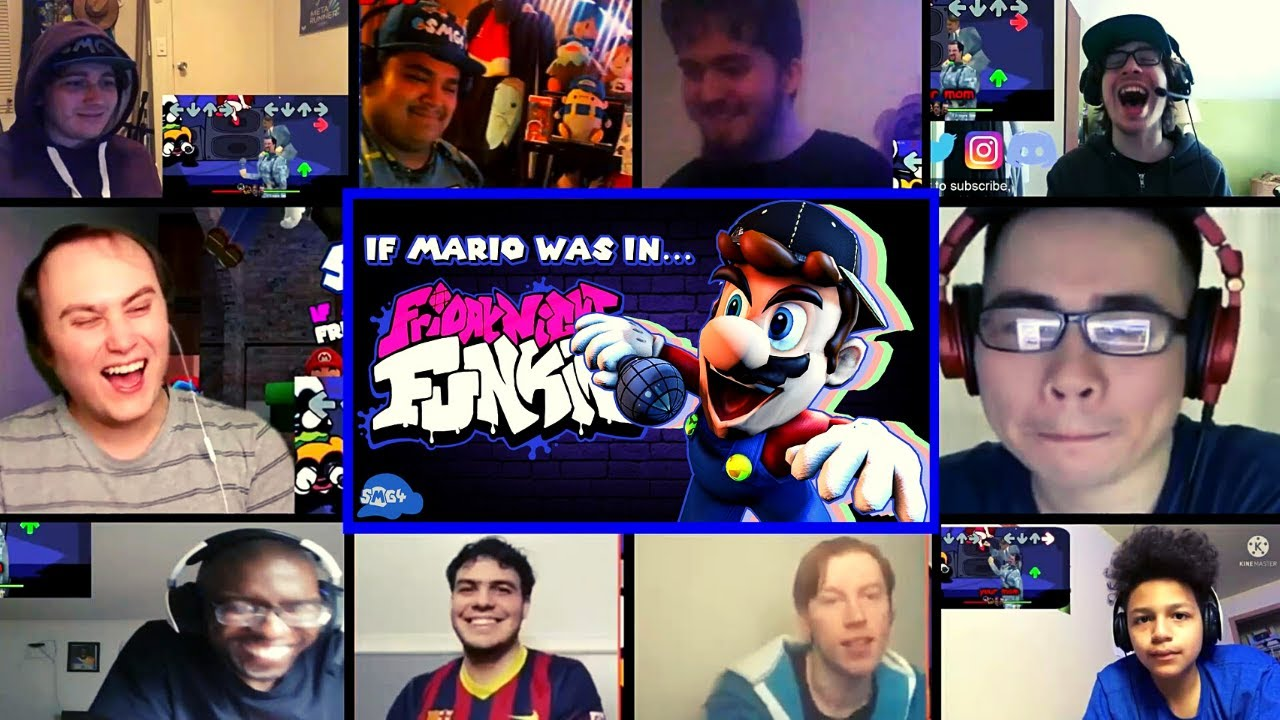 Download SMG4: If Mario Was In.... Friday Night Funkin Reactions Mashup