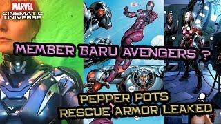 Dia Bakal Gabung Bareng Avengers Nanti Di Avengers 4 ? | Pepper Potts As Rescue | Avengers Indonesia